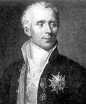 Pierre-Simon Marquis de Laplace (1749 - 1827)