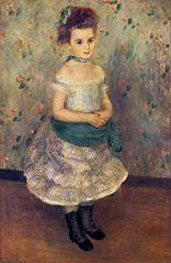 Portrait of Jeanne Durand-Ruel (Portrait de Mlle. J.)
