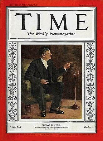 Time Person of the Year - Image: Pierre Laval TIME 1932