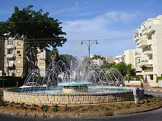 Ness Ziona - Lehrer Square