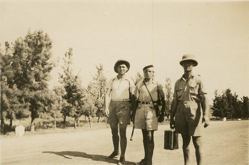 אופנת מטיילים בשנות ה-30 בארץ ישראל