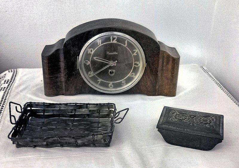 שעון ישן במוזיאון ראשון לציון
