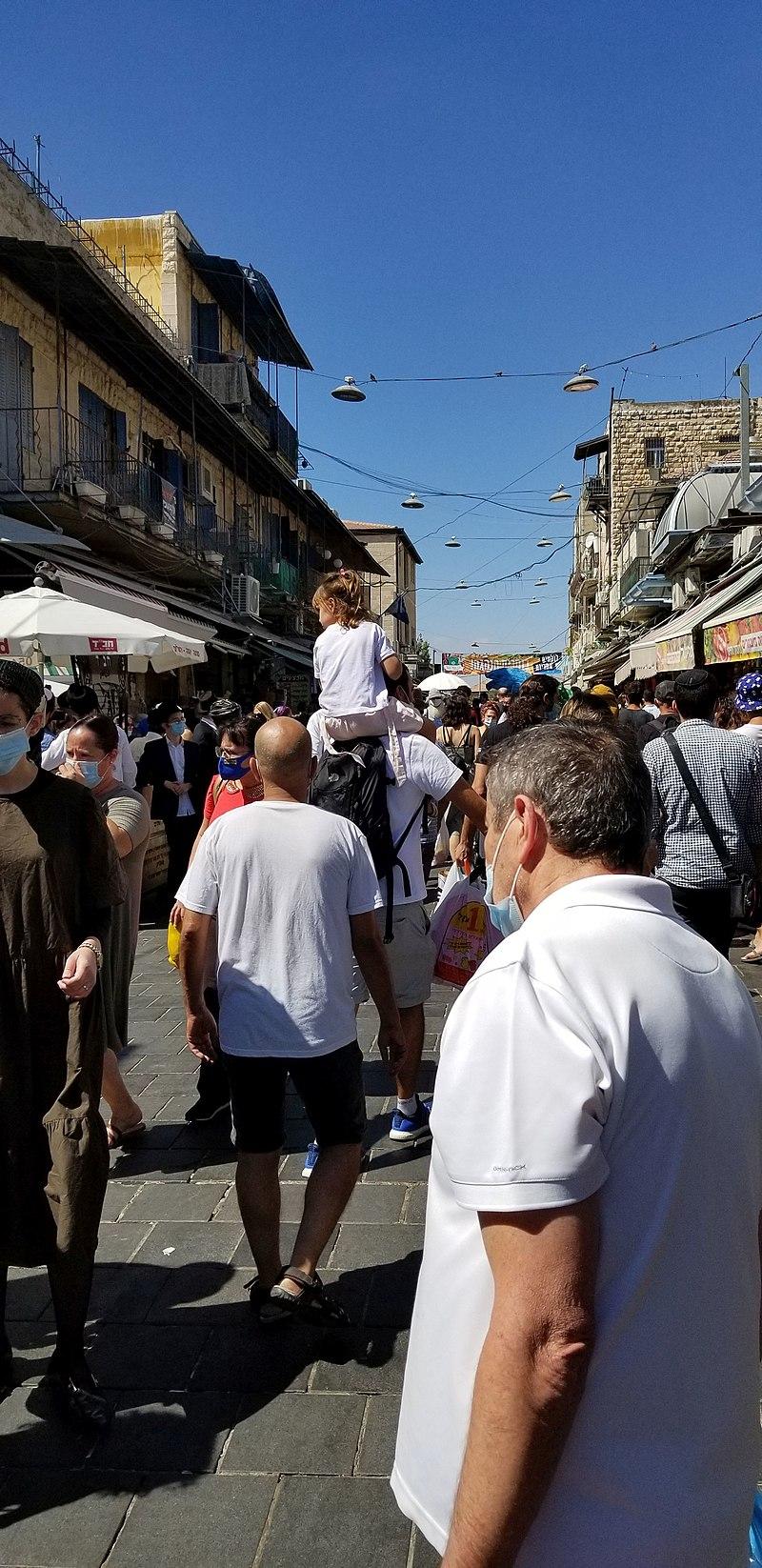שוק מחנה יהודה ירושלים קורונה גל שני