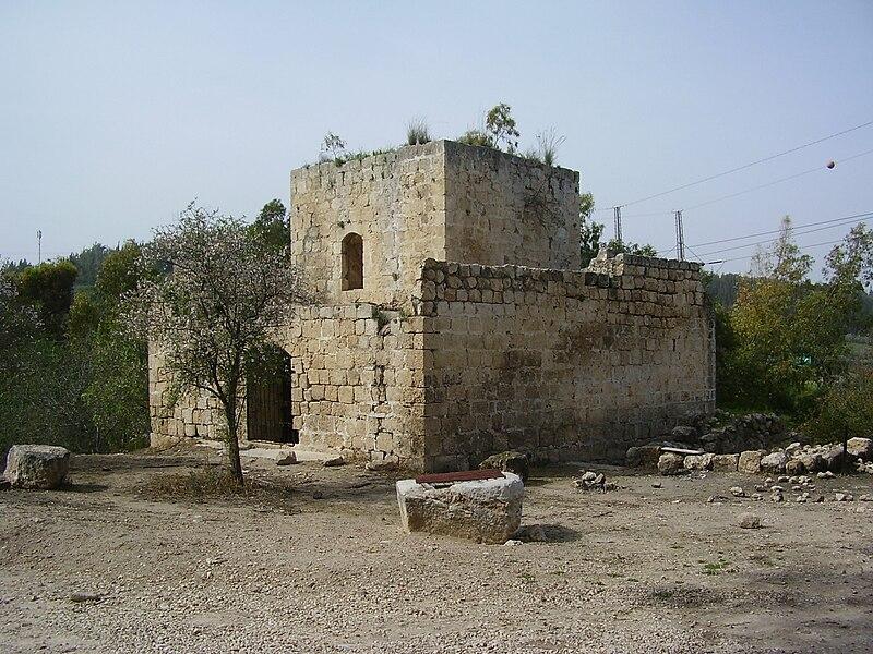 המצודה הטורקית בשער הגיא