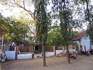 Kachchaleswarar Temple - Pillaiyar thoppu (garden) at the temple, near the entrance