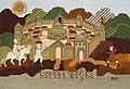 Pillow-Wall hanging depicting the Prophet Elijah (8580627933).jpg