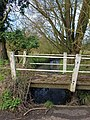 Pincey Brook bridge on Greenhill, Hatfield Broad Oak, Essex 01.jpg