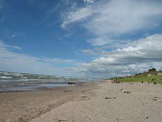 Pinery Provincial Park - Dunes Beach in the Pinery along Lake Huron