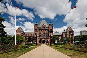 Government of Ontario - The Ontario Legislative Building is the seat of the Legislative Assembly.