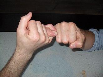 Little finger - Pinky promise