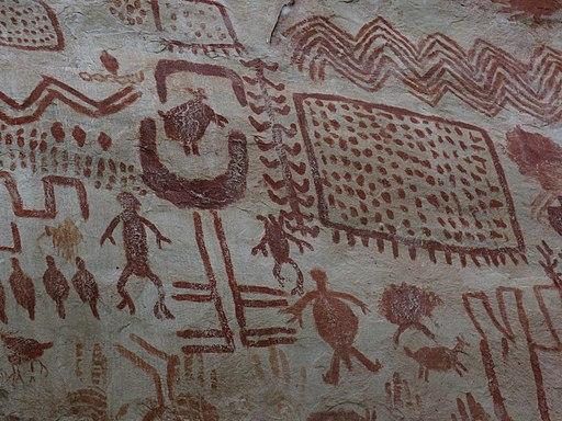 pinturas rupestres en amazonas colombia