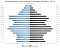 Piramida wieku Czechowice Dziedzice.png