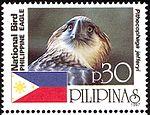 Pithecophaga jefferyi 1997 stamp of the Philippines 2.jpg