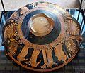 Pittore dell'ilioupersis, phiale con preparativi nuziali, 365-355 ac ca. 01.jpg