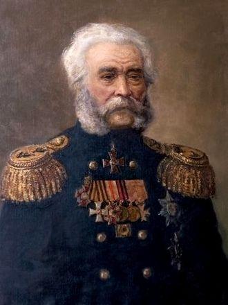 Pyotr Anjou - Admiral Pyotr Anjou