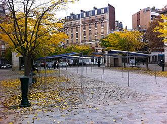 Jacques Marette - Place Jacques-Marette in the 15th arrondissement of Paris