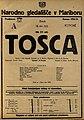 Plakat za predstavo Tosca v Narodnem gledališču v Mariboru 16. junija 1925.jpg
