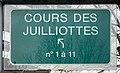 Plaque Cours Juilliottes - Maisons-Alfort (FR94) - 2021-03-22 - 1.jpg