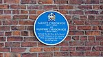 Plaque commemorating the founding of Avro, Manchester.jpg