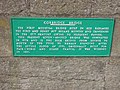 Plaque on bridge over the Tyne at Corbridge - geograph.org.uk - 242951.jpg