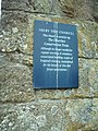 Plaque on the side of Ireby Old Chancel - geograph.org.uk - 257581.jpg