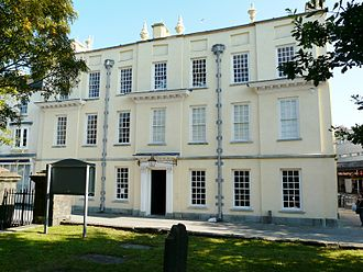 John Graham Chambers - Llanelly House, Chambers's birthplace