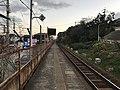Platform of Kashii-Jingu Station 5.jpg