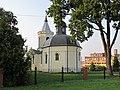 Podlaskie - Wysokie Mazowieckie - Wysokie Mazowieckie - Pl. Odrodzenia 1 - Kościół Narodzenia NMP 20110827 01.JPG