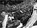 Pogled Iz letala od severa proti Gradu na staro mesto od Stritarjeve do Florjanske ulice.jpg