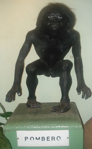 Pombero - Statue of Pombero