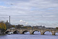 Pont-Neuf (Paris), with remote view of Eiffel tower.jpg