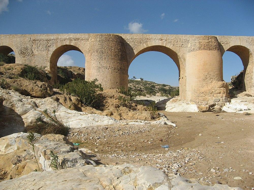 Pont Romain à Sbeitla-1, Tunisie
