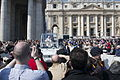 Pope Benedictus XVI - St. Peter's Square - Vatican City - 23 March 2011.jpg