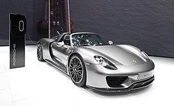 1. Porsche 918 Spyder