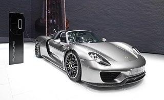 Porsche 918 Spyder Motor vehicle