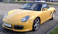 Porsche Boxster front 20080612