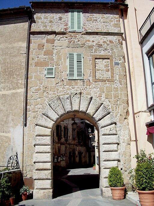 Porta di Sopra Sorano
