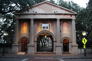 College of Charleston - Porters Lodge