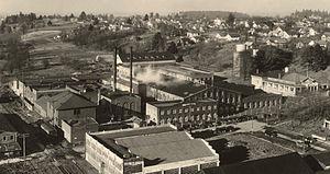 Portland Woolen Mills - Image: Portland Woolen Mills, 1935