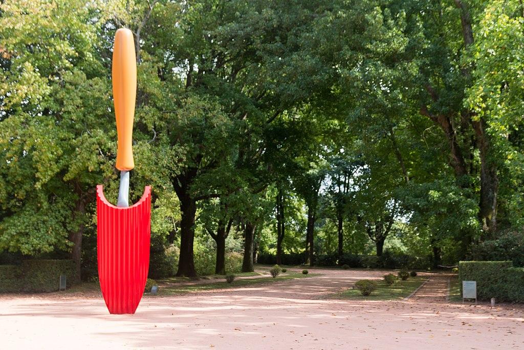 Jardin Serralves à Porto autour du musée d'art contemporain. Photo de Daniel VILLAFRUELA.