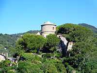 Portofino castle tower.JPG