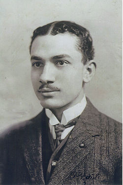 Portrait of Ahmed Zaki Abushady, (1892-1955) as a young man, ca 1909, taken in Cairo, Egypt.jpg