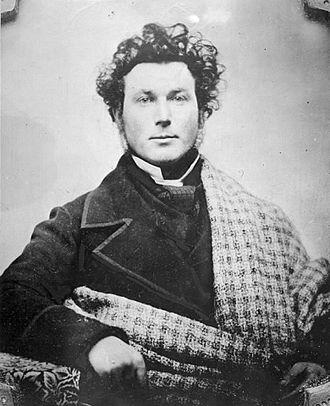 Alexander Muir - Alexander Muir at about 25 years of age, wearing his Scottish tartan
