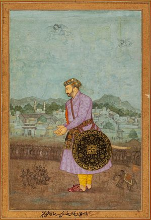 Abu'l-Hasan Asaf Khan - Portrait of Asaf Khan