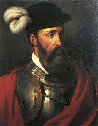 Francisco Pizarro - Portrait of Francisco Pizarro by Amable-Paul Coutan, 1835