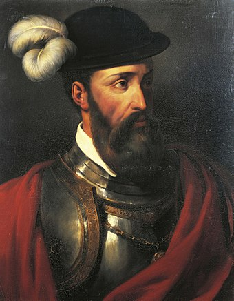 Francisco Pizarro Portrait of Francisco Pizarro.jpg