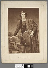 Mr. Henry Irving as Hamlet