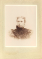 Portrait of woman by Cummings of Market Street in Wilmington Delaware.png