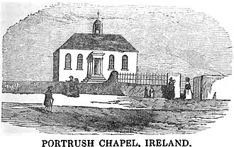 Portrush - Image: Portrush Chapel, Ireland (VII, p.31, March 1950) Copy