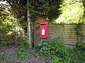 Post Box, Hall Road, Felbrigg, 16 05 2010.JPG